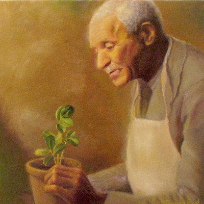 George Washington Carver and Friend